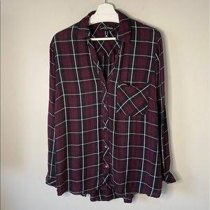 Love & Legend Plain Tunic Button Up